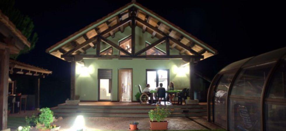 casa de bajo consumo energético en la sierra de Madrid